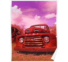ford truck in GA Poster