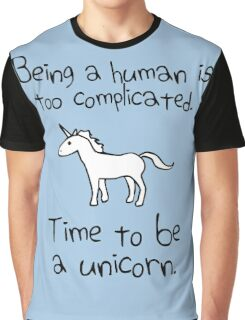 Time To Be A Unicorn Graphic T-Shirt