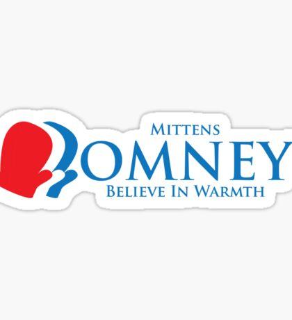 Mittens Romney Sticker