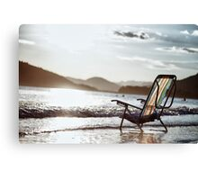 Brazilian beach Canvas Print