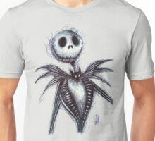 Jack Skellington scribble Unisex T-Shirt