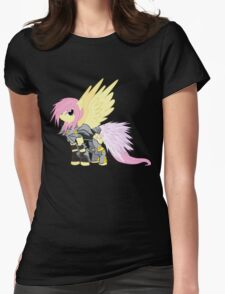 Lightning Fluttershy Womens Fitted T-Shirt