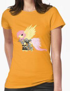 Lightning Fluttershy Womens Fitted T-Shirt