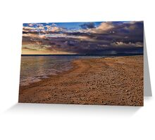 Sunset Storm Clouds Greeting Card