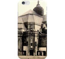 Old Building postcard iPhone Case/Skin