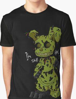 FNAF 3 Springtrap Graphic T-Shirt