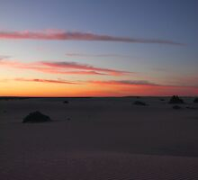 Before Sunrise at Mungo by Carole-Anne