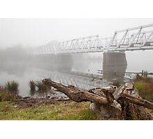 Wollondilly Mist Photographic Print