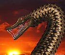 Jörmungandr (Midgard serpent) by Karl David Hill