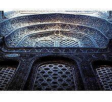 Sultan Hassan Mosque Detail Photographic Print
