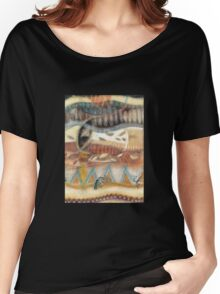 Tropical Fusions (Panel 2 of 4) Women's Relaxed Fit T-Shirt
