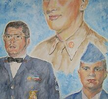 Three Generations Military Family by Jennifer Ingram