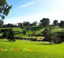 Civic Park, Drouin, Victoria by Bev Pascoe