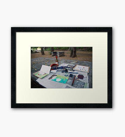 Atelier en plein air Framed Print