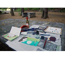 Atelier en plein air Photographic Print