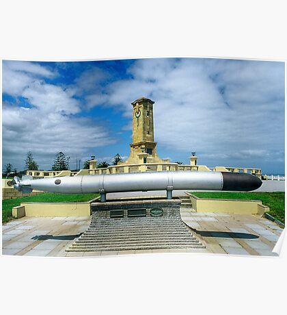 Fremantle War Memorial Poster