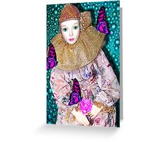 BUTTERFLY AFFICIANADO Greeting Card