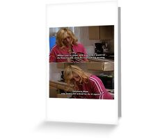 Don't do housework Greeting Card