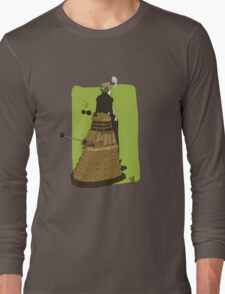 Wholock Moran and the Dalek Long Sleeve T-Shirt