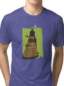 Wholock Moran and the Dalek Tri-blend T-Shirt