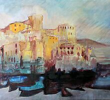Boccadasse Genova by Lorenzo Castello