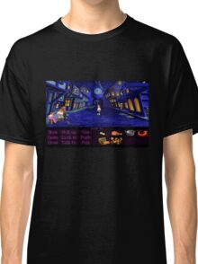 Melee Island streets (Monkey Island 1) Classic T-Shirt