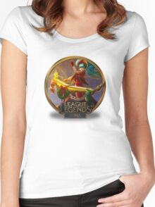Silent Night Sona Women's Fitted Scoop T-Shirt