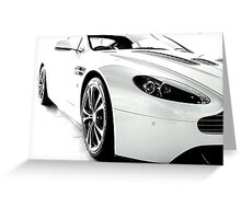 Aston Martin V12 Vantage Greeting Card