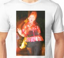 female models in a fashion show Unisex T-Shirt