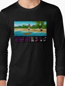 Finally on Monkey Island (Monkey Island 1) Long Sleeve T-Shirt