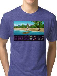 Finally on Monkey Island (Monkey Island 1) Tri-blend T-Shirt