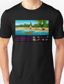 Finally on Monkey Island (Monkey Island 1) Unisex T-Shirt