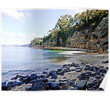 Tasmania #3 - Boronia Beach Poster