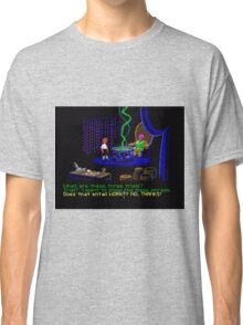 Asking about the Three Trials (Monkey Island 1) Classic T-Shirt
