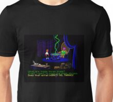 Asking about the Three Trials (Monkey Island 1) Unisex T-Shirt