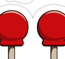 Big Red Balls of Doom Sticker