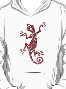 Lizard Tattoo Red T-Shirt