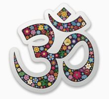 Om Aum Namaste Yoga Symbol  One Piece - Short Sleeve