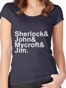 Sherlock Jetset Women's Fitted Scoop T-Shirt