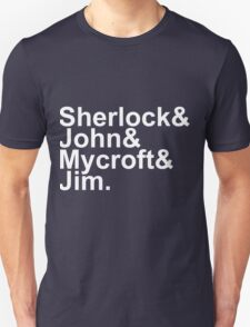 Sherlock Jetset Unisex T-Shirt