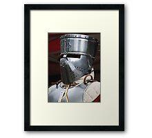 Traditional Helmet Framed Print