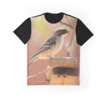 White-browed Sparrow Weaver (Plocepasser mahali) Graphic T-Shirt