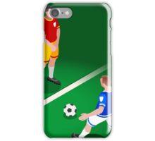 Football Team Player iPhone Case/Skin