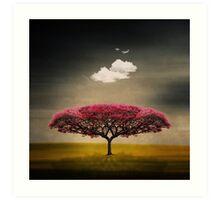 Medusa Cloud Art Print