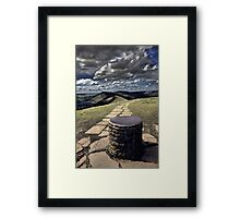 View From Lose Hill Framed Print