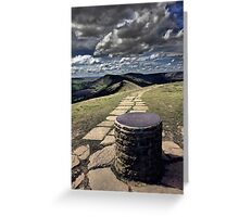 View From Lose Hill Greeting Card