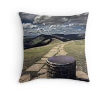 View From Lose Hill Throw Pillow