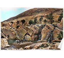 Les cascades de Moulin Ferrero Poster
