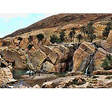 Les cascades de Moulin Ferrero Photographic Print