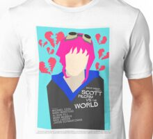 Scott Pilgrim Verses The World - Saul Bass Inspired Poster (Untextured) Unisex T-Shirt